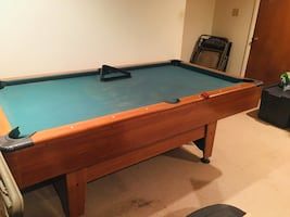 Pool table (negotiable)
