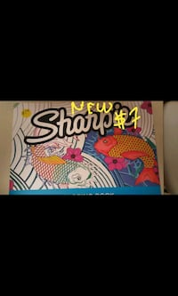 New Sharpie drawing book $7