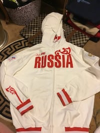 2010 men's XL new hoodie Russia  Vancouver, V5P 2M3