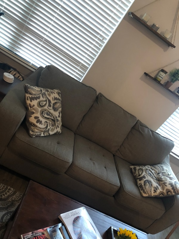 Grey couch and love seat !