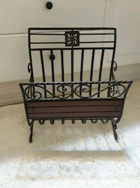 Metal magazine rack Buckley, 98321