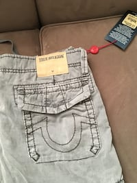 True Religion grey men's shorts size31 Toronto, M9R 1Z1