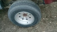 Toyota wheels and tires 2426 mi