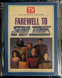Collectors Edition TV guide- Farewell to Startrek: Toronto, M4J 2A1