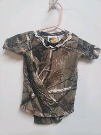 Real Tree Onesies Size XS 0-3m / S