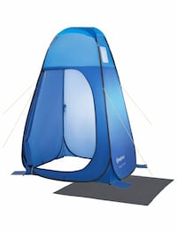 New KingCamp Pop Up Dressing Changing Tent Shower Room Detachable Floo