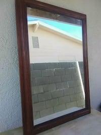 Large mirror with Wood frame like new Las Vegas, 89104