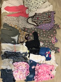 Baby girls assorted clothes 6-12 months Caledon, L7C 4E1