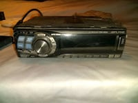 Alpine stereo with harness and Logitech 1000w amp