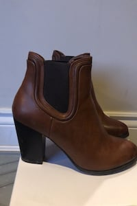 Brown Booties - Size 8.5  Vaughan, L6A 1V4