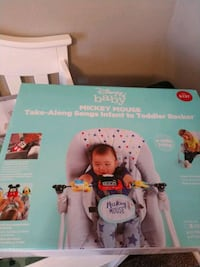 Disney baby Mickey mouse take along songs infant to toddler rocker