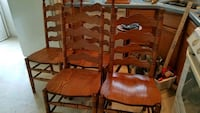 4 oak chairs Sparrows Point, 21219