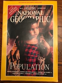 National Geographic 1998, 3 Issues, Oct, Nov, Dec, excellent condition  Brazoria, 77422