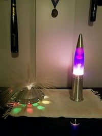Lava lamp- both included  61 km