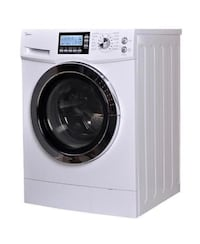 white Arcelik front-load washer ASHBURN