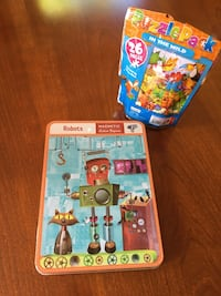 Magnetic Robot Game w/Free Puzzle Pack Framingham, 01702
