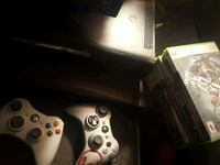 Xbox 360 plus games and controllers  Evansville, 47714