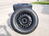235/60R17 Blizzak Winter Tires w Wheels Sherwood Park, T8H 1S9