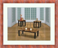 3pc marble coffee table Temple Hills
