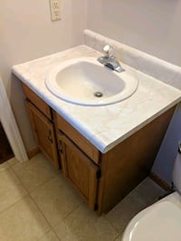 "30"" vanity with sink and faucet Delmont, 15626"