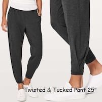 Lululemon twisted and tucked pant