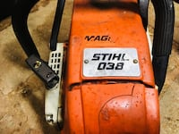orange and black Ridgid power tool