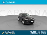 2018 *Jeep* *Compass* Latitude Sport Utility 4D suv Black Chattanooga, 37402