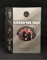 Backstreet Boys: The Official Book (Hardcover) 548 km