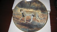 Moving Sale - Collectible Plate with certificate - New