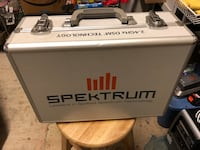 Spektrum RC Transmitter Carrying Case - (existing foam can be removed and replaced with new foam that can be altered to carefully hold any item that
