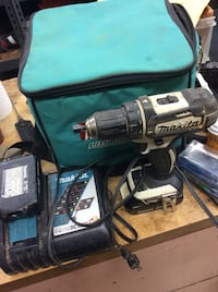 Makita XFD10 drill with 2 batteries and charger . Used Baltimore, 21205