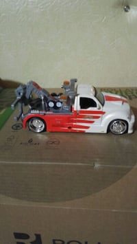 Diecast tow truck