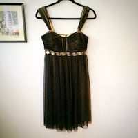 Black size 6 dress  Toronto, M6E 2G6