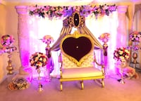 wedding decor Falling Waters