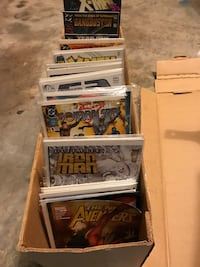 Lot of 595 Comic Books - DC, Marvel, Much More - MSRP $2,400   Mixed Lot of 600 Comic Books - Great Toys, Gifts, and Collectibles   Store overstock!   Characters represented include:  * Superman  * Batman  * X-Men  * Thor  * Wolverine  * Spider-Man  * Mor Elkton, 32033