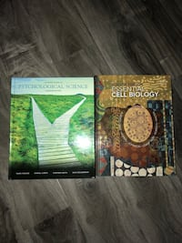 First year biology and psychology textbooks Kitchener, N2B