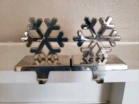 2 silver stocking hangers Brentwood, 94513