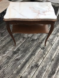 Marble top side table or hallway table  Brampton, L6T 3C2