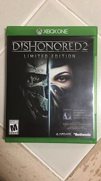 Dishonored 2 -limited edition xbox one game Slidell, 70460