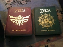 Zelda Harry potter and serenity books