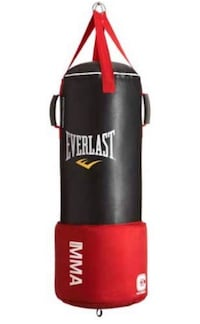 black and red Everlast heavy bag Fort George G Meade, 20755