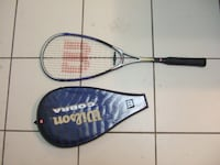 different condition used Wilson squash racket Mississauga