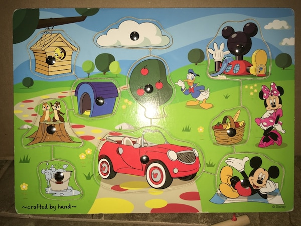 40be348bc7 Used Toddler Mickey Mouse Magnetic Puzzle Negotiable for sale in ...