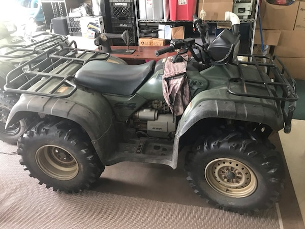 Honda Four Wheelers For Sale >> Used Honda Four Wheeler Trx450es For Sale In North Port