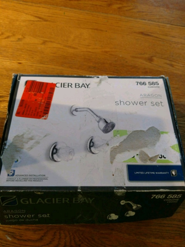 New shower valve in box