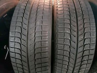 four black vehicle tire set Pickering, L1V 7K1