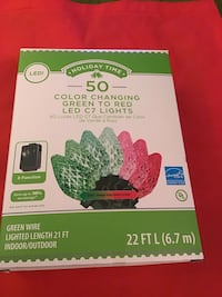 NEW Christmas LED Color Changing Lights 4 Boxes  Moorestown, 08057