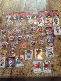 Disney Infinity Game with characters and power ups