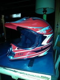 red motocross helmet Warren, 48091