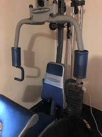 black and gray elliptical trainer Montréal, H4R 2A8